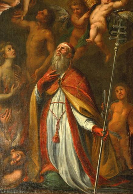 San Gregorio dipinto